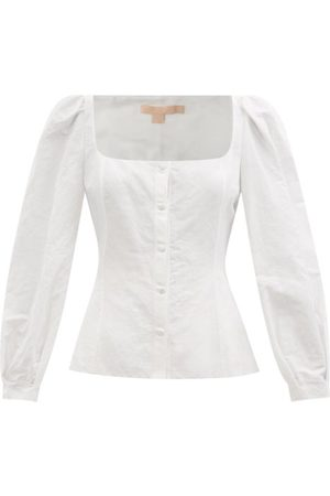 BROCK COLLECTION Thelma Cotton-blend Top - Womens