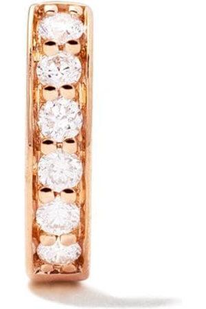 ALINKA 18kt rose IRINA diamond huggie earring