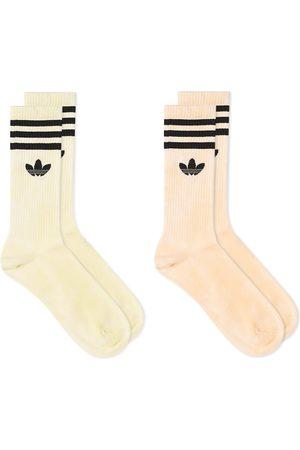 adidas Tie Die Sock - 2 Pack