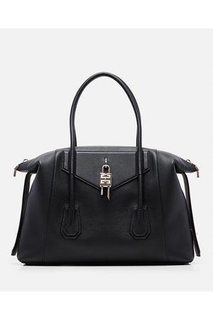 Givenchy ANTIGONA LOCK SOFT MEDIUM GRAINED LEATHER BAG size One Size