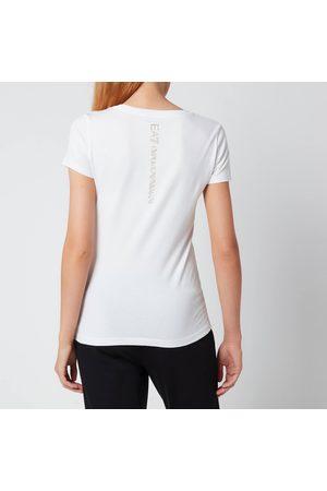 EA7 Women T-shirts - Women's Train Shiny T-Shirt
