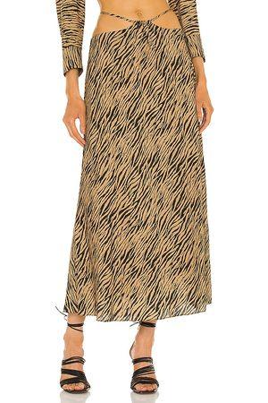 JONATHAN SIMKHAI Shiloh Strap Detail Skirt in . Size XS, S, M.