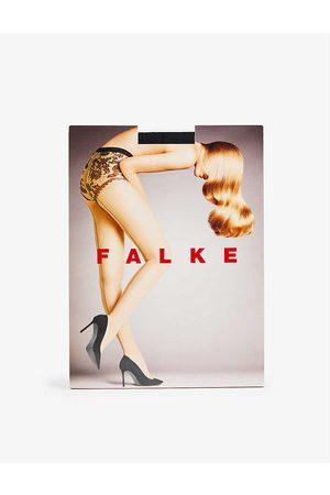 Falke Sheer Lady floral-embroidered 20 denier tights