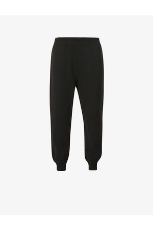 alexander mcqueen Tapered mid-rise cotton-jersey jogging bottoms