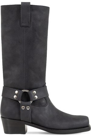 PARIS TEXAS 45mm Roxy Leather Western Boots