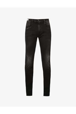 Replay Upcycled Anbass tapered slim-fit jeans
