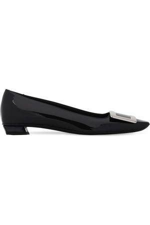 Roger Vivier Women Heels - 25mm Belle Vivier Patent Leather Pumps