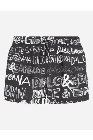 Dolce & Gabbana Collection - Short swim trunks with all-over print male 2