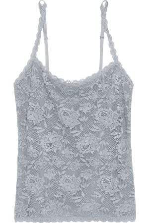 Cosabella Women Singlets - Woman Never Say Never Sassie Stretch-lace Camisole Gray Size L
