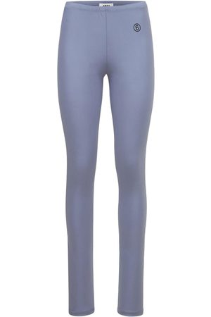 MM6 MAISON MARGIELA Shiny Jersey Leggings