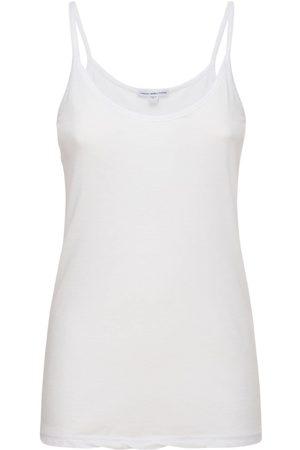James Perse Cami Lightweight Cotton Jersey Tank Top