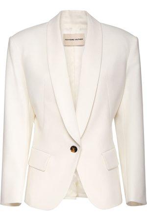 ALEXANDRE VAUTHIER Oversized Wool Jacket