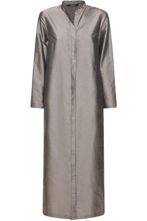 Max Mara Women Dresses - Silk Shantung Long Dress