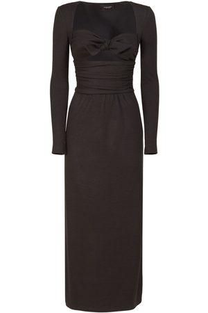 Giambattista Valli Women Casual Dresses - Wool Blend Jersey Long Dress
