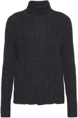 Saint Laurent Mohair Blend Knit Sweater