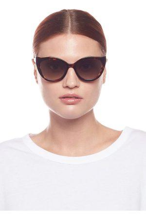 Le Specs Flossy Sunglasses Tort
