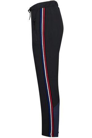 Être Cécile Women Trousers - Gros-grain stripe crop retro track pant