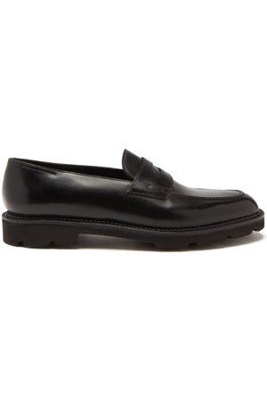 JOHN LOBB Lopez Leather Penny Loafers - Mens