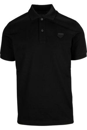 Prada Men Polo Shirts - MEN'S UJN444XGSF0002 COTTON POLO SHIRT