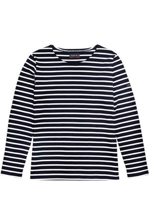 Armor.lux Armor-Lux Women Long Sleeved Lesconil Striped Shirt - Rich Navy/White