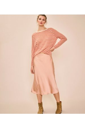 Mos Mosh Helsa Nectarine Stripe Knit