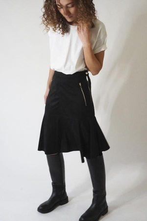 Religion Women Skirts - EON SKIRT - JET