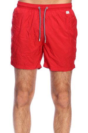 MC2 SAINT BARTH Men Swim Shorts - MEN'S LIGHTINGPANTONE41 POLYESTER TRUNKS
