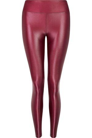Koral Women Trousers - Ruby High Rise Lustrous Legging