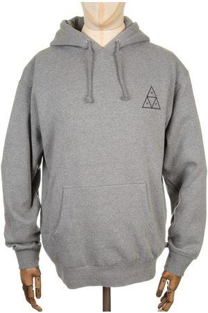 Huf Triple Triangle Hooded Sweatshirt - Heather Medium, Colour: Heather
