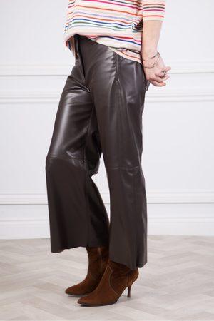 Marc Cain Faux Leather Culotte