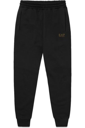 EA7 Women Trousers - Armani EA7 Core ID Skinny Joggers - / Gold Badge