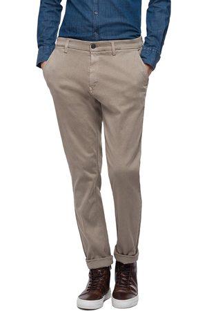 Replay Hyperflex Zeumar Slim Chino Trousers - Sand