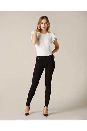 7 for all Mankind SLIM ILLUSION LUXE HIGH WAIST SKINNY IN RINSED