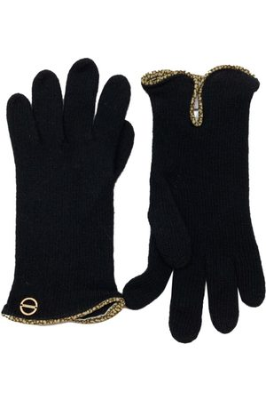 Borbonese Woolen gloves with OP profile - / OP Natural