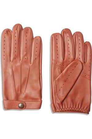Dents Fleming James Bond Spectre Leather Driving Gloves - Highway Tan