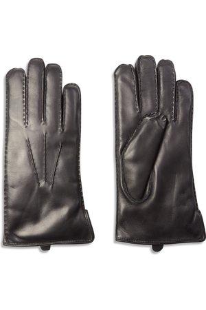 Dents Pembroke Fur Lined Leather Gloves