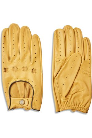 Dents Delta Classic Leather Driving Gloves - Cork with Black