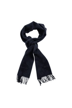 Gant Icon Logo Wool Scarf - Mens - Multi