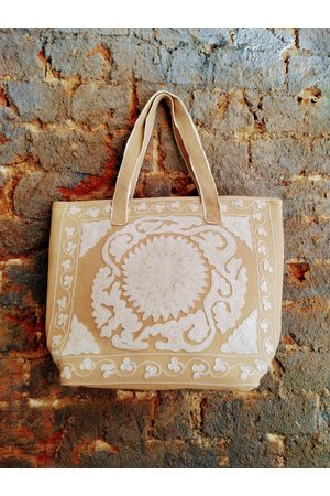 DREAM HB1631 Hand Embroidered Bag Peach