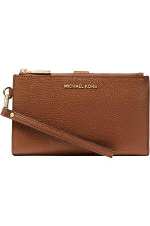 Michael Kors MICHAEL KORS - Jet Set Double Zip Wristlet - Luggage
