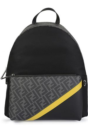 Fendi FF Panelled Backpack