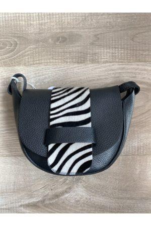 The Boutique Waltham Handbags Cowhide Zebra/leopard