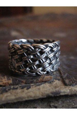 Collard Manson Men Rings - 925 Woven Ring