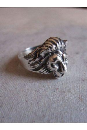 Collard Manson Women Rings - CollardManson 925 Lion Ring