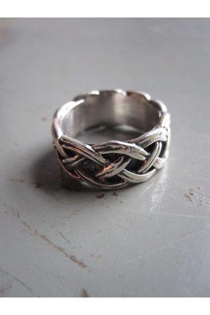 Collard Manson 925 Woven Ring
