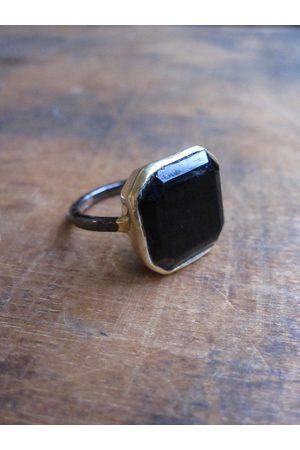 Collard Manson Large onyx stone ring