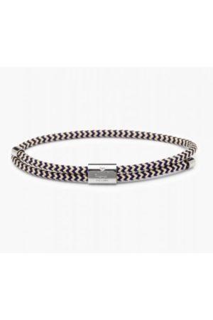 pig & hen Men Bracelets - Little Lewis Bracelet in Navy / Sand / Silver