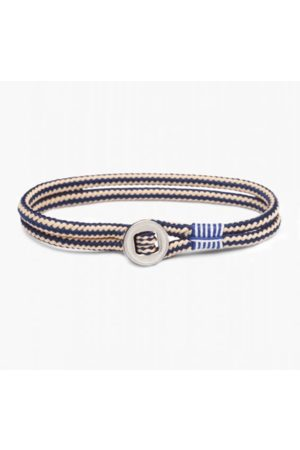 pig & hen Don Dino Bracelet in Navy / Sand / Silver