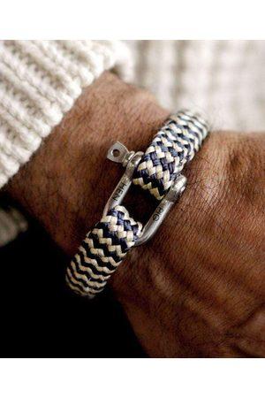 pig & hen Men Bracelets - Bombay Barry Bracelet in Navy-Sand /