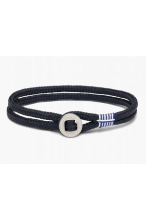Pig and Hen Don Dino Bracelet in Navy and Silver